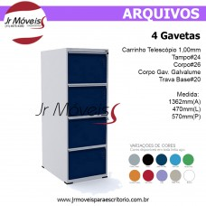Arquivo 4 Gavetas